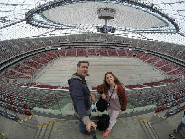 interior del Estadio que ver en Varsovia en 3 días