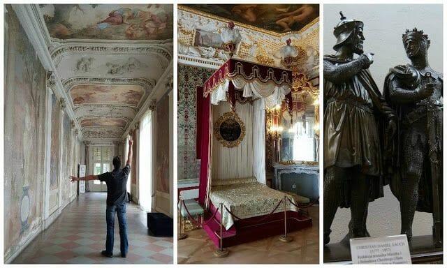 Palacio Wilanów Varsovia trono real