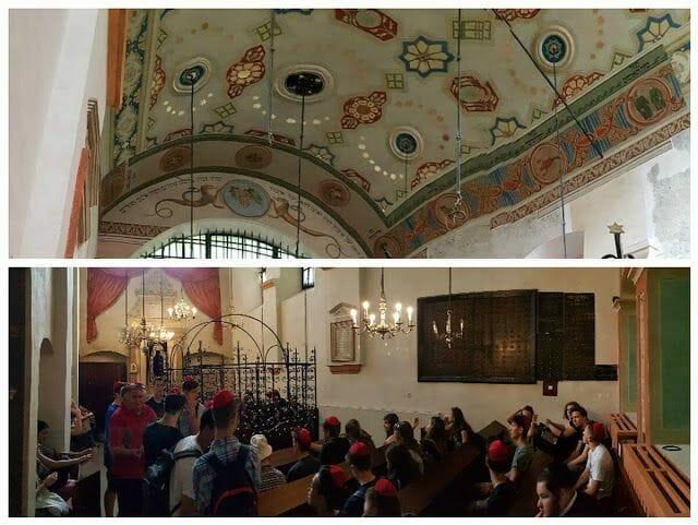 interior La sinagoga Remuh