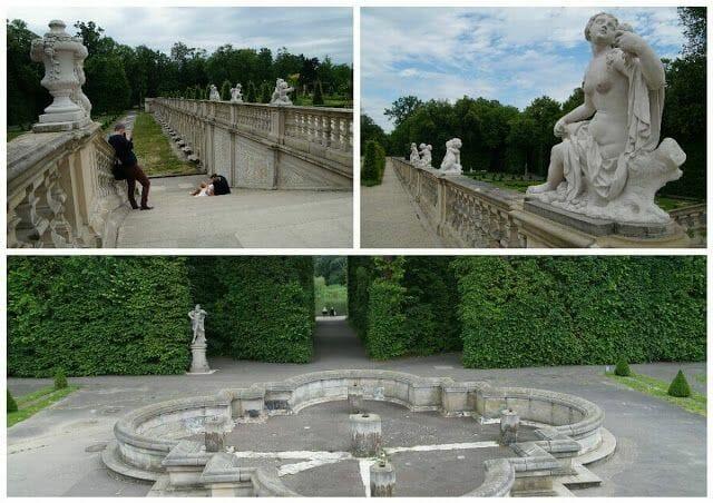 jardin italiano Palacio Wilanów Varsovia