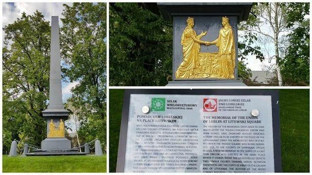 Monumento a la unión de Lublin
