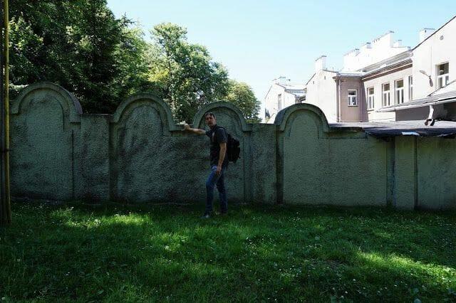 muro gueto Cracovia