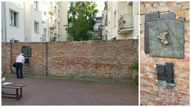 Muro del Gueto de Varsovia