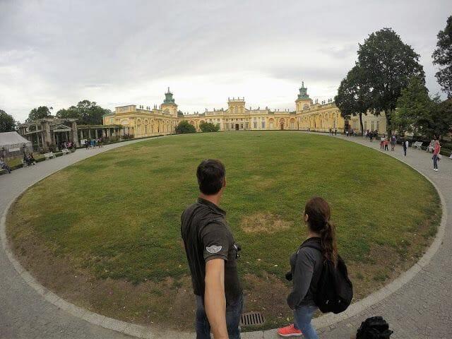 Palacio Wilanów Varsovia panoramica