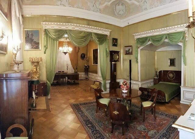 Palacio Wilanów Varsovia habitaciones