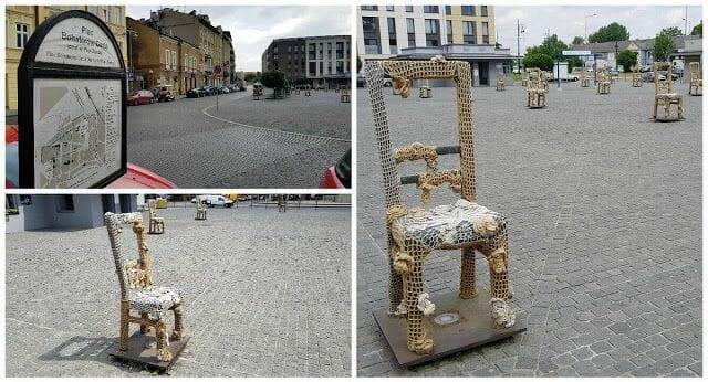 plaza de las sillas Cracovia
