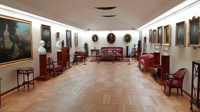 Palacio Wilanów Varsovia cuadros