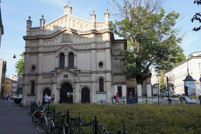 Sinagoga Tempel barrio judío de Cracovia
