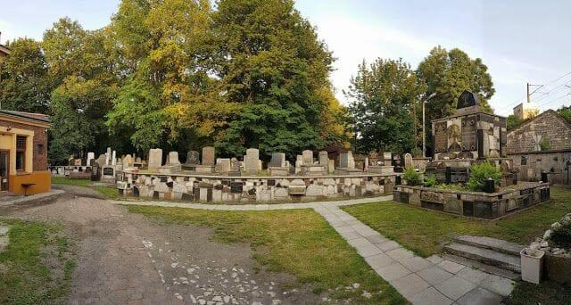 El Cementerio Nuevo de kazimierz cracovia