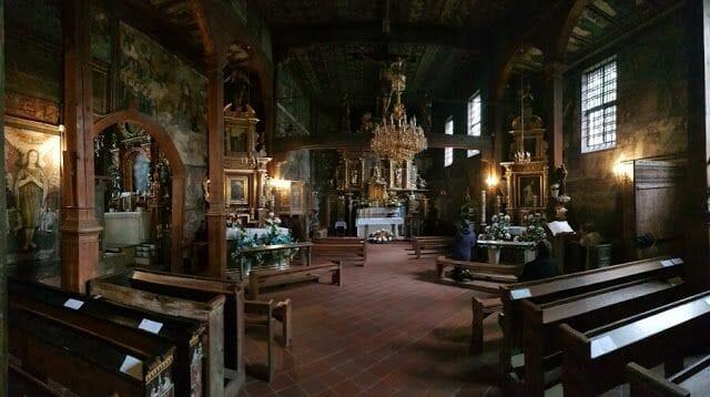 iglesia de Binarowa