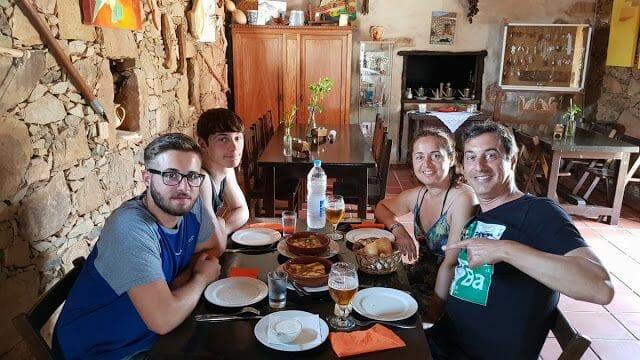 comer en Fuerteventura