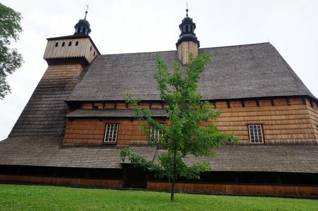 iglesia de Haczów - iglesias de madera de Polonia