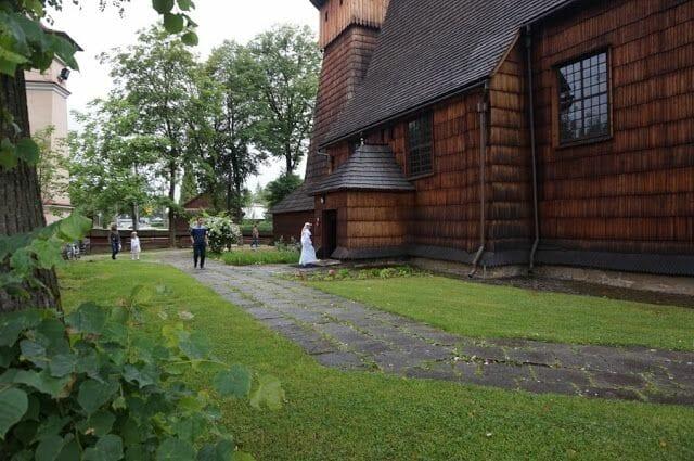 iglesia de Binarowa - las iglesias de madera de Polonia