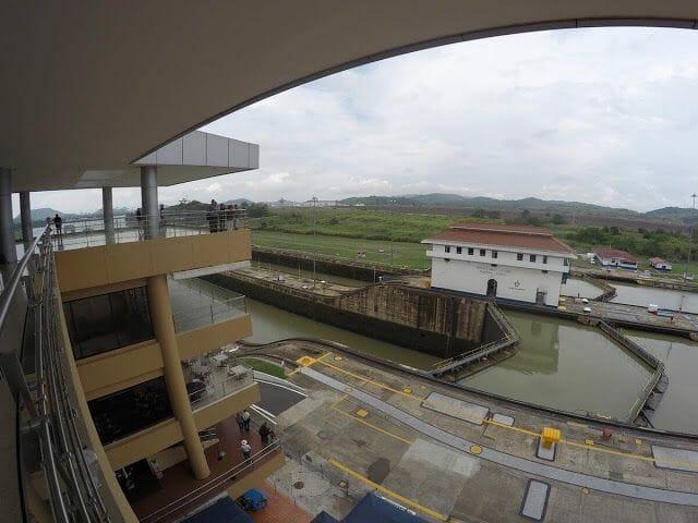 esclusas de Miraflores - visitar canal de Panamá