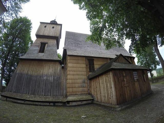 La iglesia de Blizne - iglesias de madera de Polonia