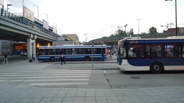 Transporte público en Cracovia