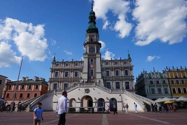 Ayuntamiento - qué ver en Zamosc