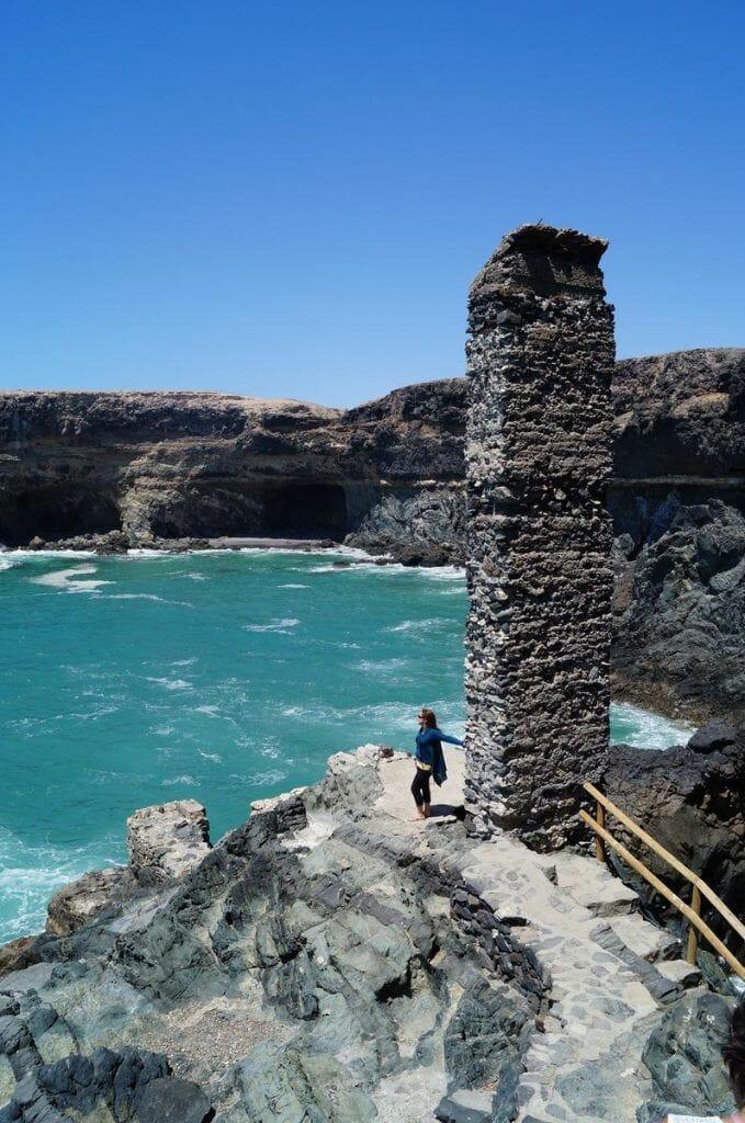 Puerto de la peña, ajui, fuerteventura, cuevas de Ajui, ajuy