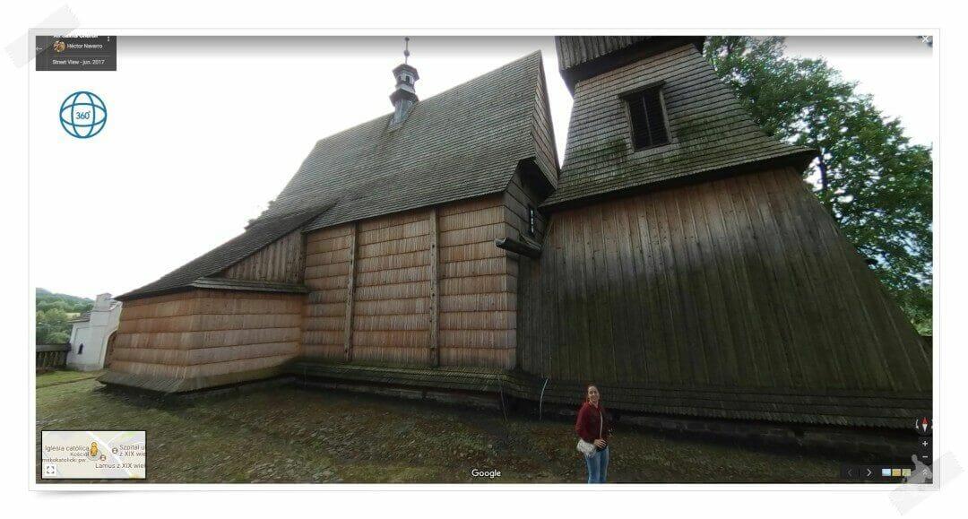 iglesia madera haczow