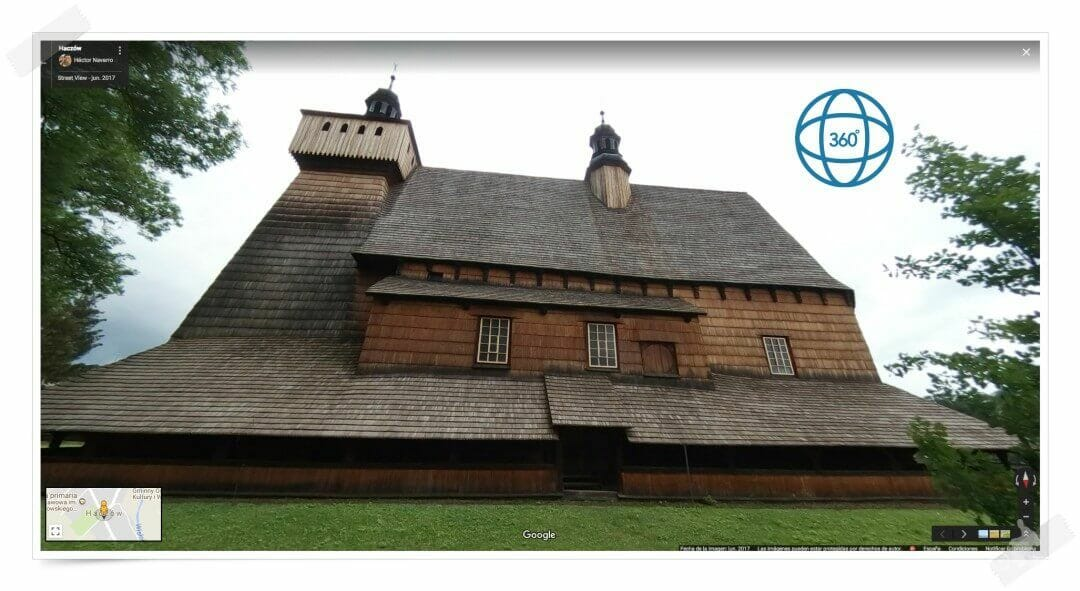 iglesia madera blizne