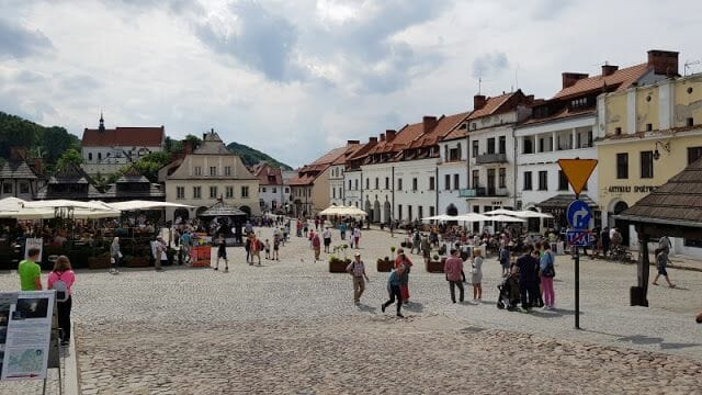 plaza del mercado kazimierz dolny