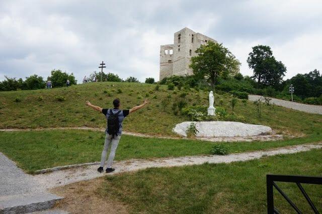 El castillo de Kazimierz Dolny