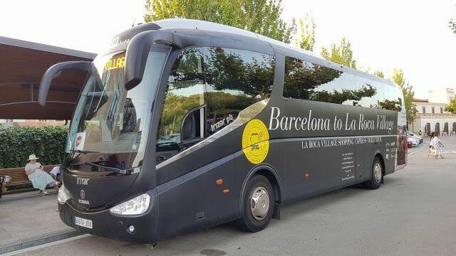 autobus la Roca Village Barcelona outlet