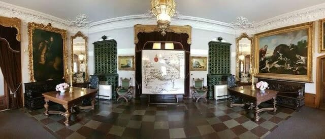 habitación palacio de Kozłówka