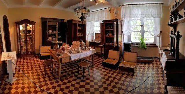 salon palacio de Kozłówka