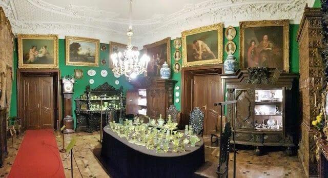 salon paredes verdes palacios