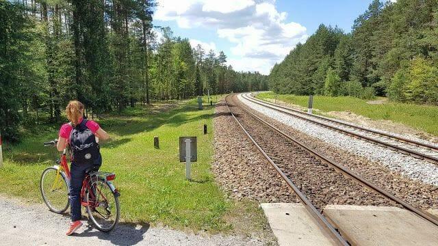via tren parque nacional de Roztocze