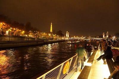 crucero por el Sena - visitas guiadas en Paris