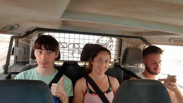 furgoneta en Fuerteventura
