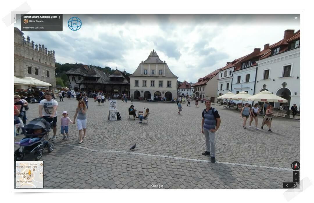 plaza Kazimierz Dolny