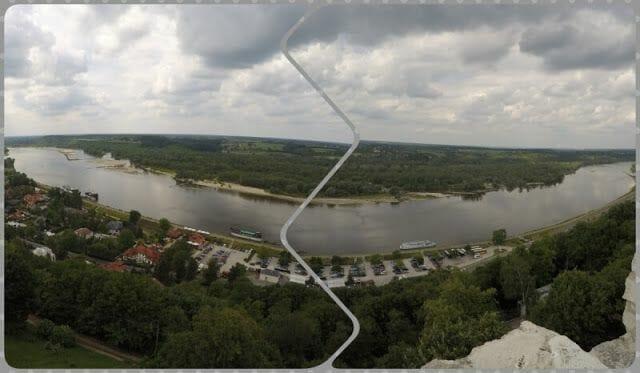 río vistula kazimierz dolny