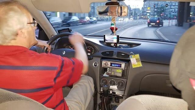 Taxis - Transporte público en Cracovia