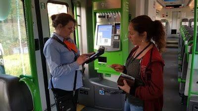 revisor del tren de Cracovia a las minas de Sal