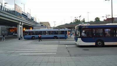 bus aeropuerto de cracovia