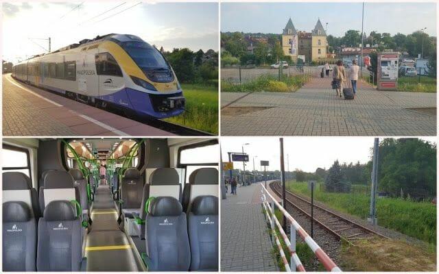 estacion de tren de Wieliczka