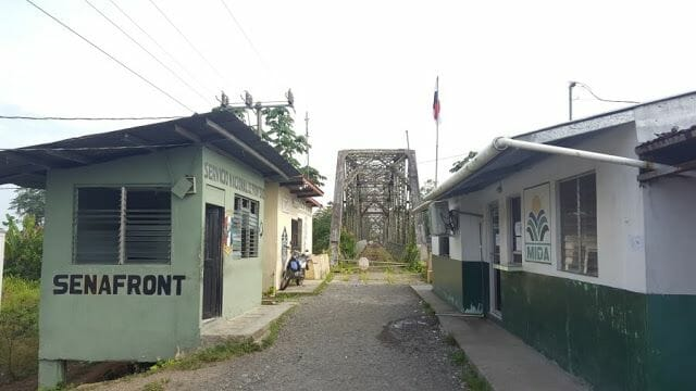 Cruzar la frontera de Costa Rica a Panamá por Sixaola Guabito