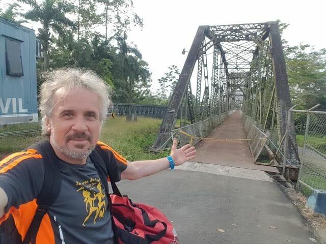 puente de la frontera Sixaola Guabito