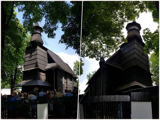 iglesias de madera que ver en tarnow