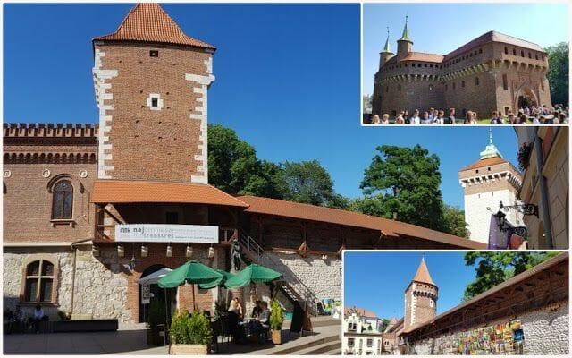 murallas que visitar en Cracovia