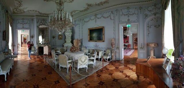 El Palacio de Łańcut interior