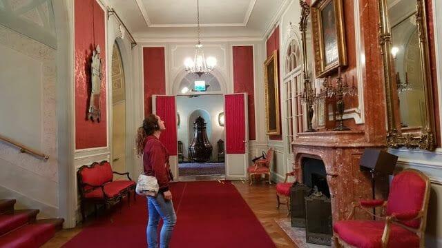El Palacio de Łańcut audoguia visita
