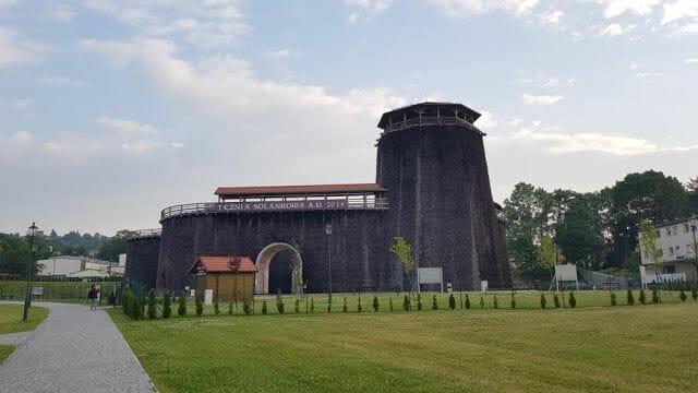 Torre de graduación o Tężnia Solankowa