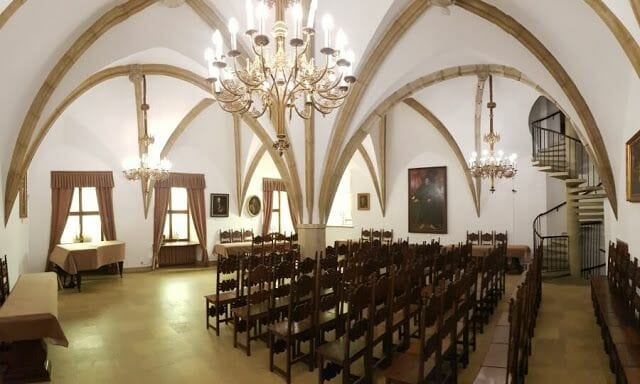 Castillo Żupny interior