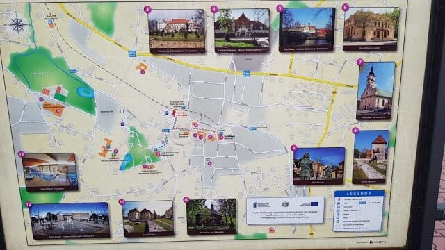 mapa Wieliczka