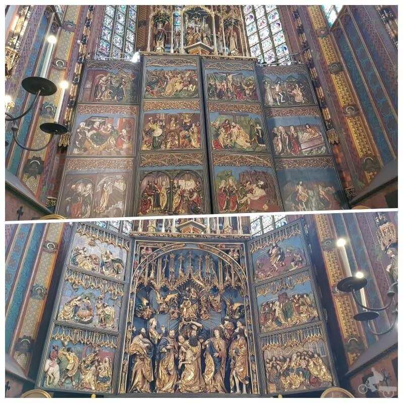 retablo iglesia de Santa Maria de Cracovia