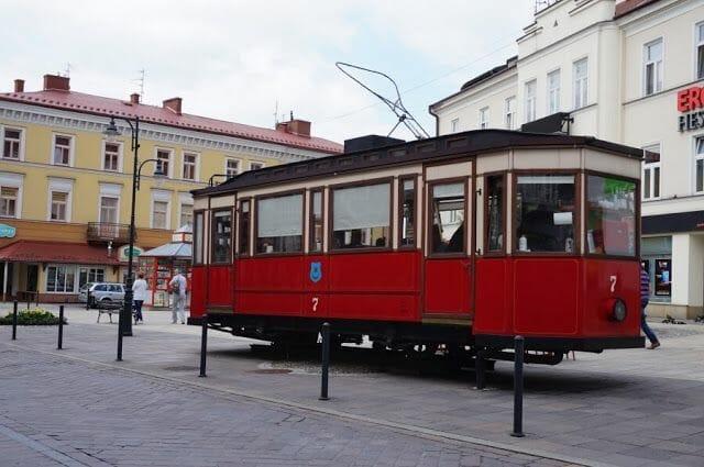 Los tranvías de Tarnów